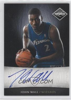 2010-11 Limited Next Day Autographs [Autographed] #13 - John Wall /99