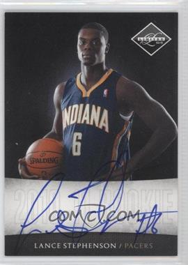 2010-11 Limited Next Day Autographs [Autographed] #3 - Lance Stephenson