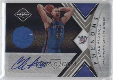 2010-11 Limited #154 - Cole Aldrich /249