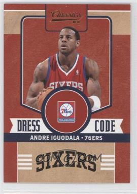 2010-11 Panini Classics Dress Code #2 - Andre Iguodala
