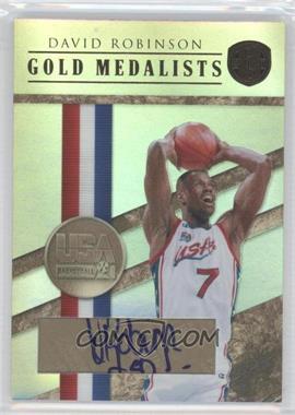 2010-11 Panini Gold Standard - Gold Medalists - Signatures [Autographed] #20 - David Robinson /10