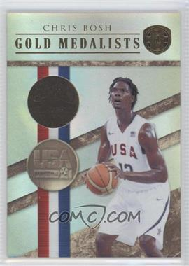 2010-11 Panini Gold Standard Gold Medalists Gold Rush #8 - Chris Bosh /10