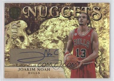 2010-11 Panini Gold Standard Gold Nuggets Signatures [Autographed] #49 - Joakim Noah /25