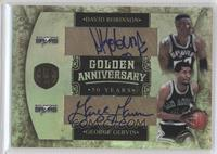 David Robinson, George Gervin /20