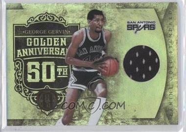 2010-11 Panini Gold Standard Golden Anniversary Memorabilia [Memorabilia] #17 - George Gervin /299