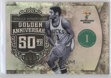 2010-11 Panini Gold Standard Golden Anniversary #6 - Oscar Robertson /299