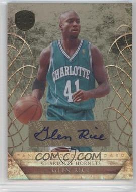 2010-11 Panini Gold Standard Signatures [Autographed] #183 - Glen Rice /299