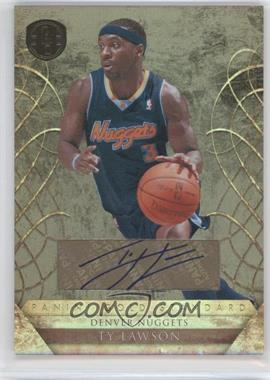 2010-11 Panini Gold Standard Signatures [Autographed] #5 - Ty Lawson /299