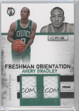 2010-11 Panini Rookies & Stars - Freshman Orientation Materials - Double Prime #17 - Avery Bradley /49