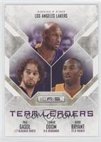 Pau Gasol, Kobe Bryant, Lamar Odom /499