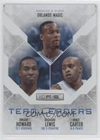 Dwight Howard, Rashard Lewis, Vince Carter /199