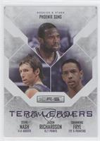 Channing Frye, Steve Nash, Jason Richardson /199