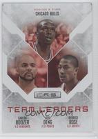 Carlos Boozer, Derrick Rose, Luol Deng /199