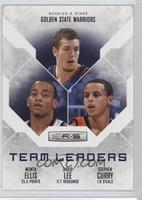 David Lee, Stephen Curry, Monta Ellis