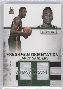 2010-11 Panini Rookies & Stars Freshman Orientation Materials Double #14 - Larry Sanders /399