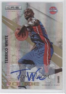 2010-11 Panini Rookies & Stars Longevity Signatures [Autographed] #118 - Terrico White /299