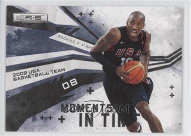 2010-11 Panini Rookies & Stars Moments in Time #14 - 2008 USA Men's Olympic Team (Kobe Bryant)