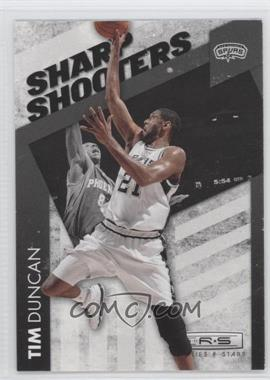 2010-11 Panini Rookies & Stars Sharp Shooters #14 - Tim Duncan