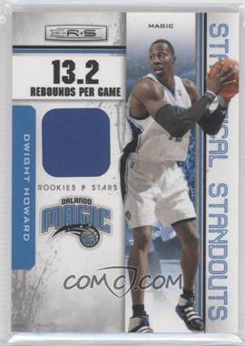 2010-11 Panini Rookies & Stars Statistical Standouts Materials #11 - Dwight Howard /199