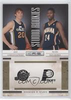 Gordon Hayward, Paul George /499