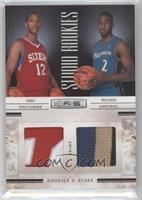Evan Turner, John Wall /49