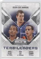 Monta Ellis, David Lee, Stephen Curry /99