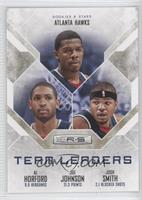 Joe Johnson, Al Horford, Josh Smith /499