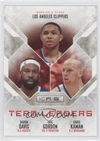Baron Davis, Eric Gordon, Chris Kaman /499