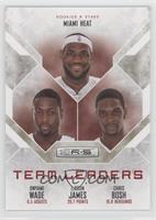 Chris Bosh, Dwyane Wade, LeBron James /499