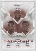 Chris Bosh, Dwyane Wade, LeBron James /499