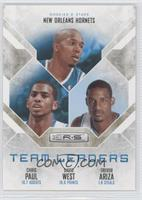 Chris Paul, David West, Trevor Ariza /499