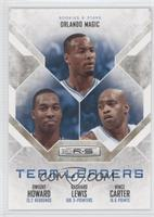 Dwight Howard, Rashard Lewis, Vince Carter /499