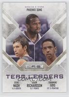 Channing Frye, Jason Richardson, Steve Nash /499