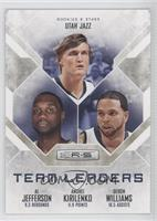 Al Jefferson, Andrei Kirilenko, Deron Williams /499