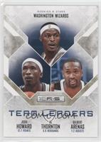 Al Thornton, Gilbert Arenas, Josh Howard /499