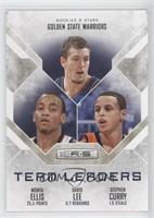 Monta Ellis, David Lee, Stephen Curry /499