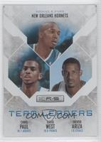 David West, Chris Paul, Trevor Ariza /199