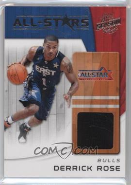 2010-11 Panini Season Update - All-Stars - Materials [Memorabilia] #9 - Derrick Rose