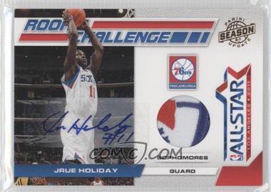 2010-11 Panini Season Update - Rookie Challenge - Materials Prime Signatures [Autographed] [Memorabilia] #12 - Jrue Holiday /5