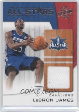 2010-11 Panini Season Update All-Stars Materials [Memorabilia] #17 - Lebron James