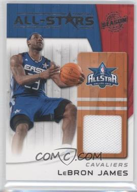 2010-11 Panini Season Update All-Stars Materials [Memorabilia] #17 - Lebron James