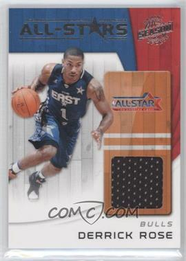 2010-11 Panini Season Update All-Stars Materials [Memorabilia] #9 - Derrick Rose