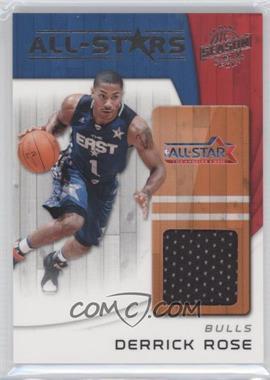 2010-11 Panini Season Update All-Stars Materials [Memorabilia] #9 - Derrick Rose