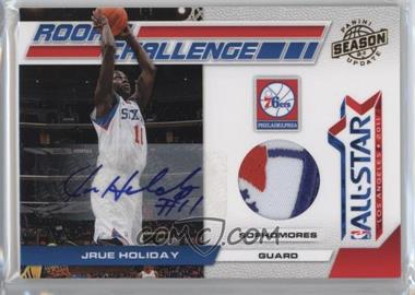 2010-11 Panini Season Update Rookie Challenge Materials Prime Signatures [Autographed] [Memorabilia] #12 - Jrue Holiday /5