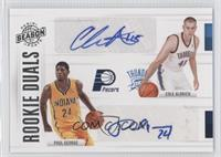 Cole Aldrich, Paul George /99