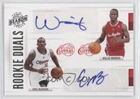Willie Warren, Eric Bledsoe /99