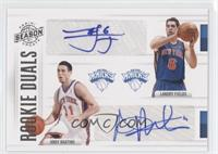 Andy Rautins, Landry Fields /99