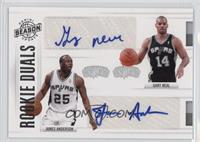 Gary Neal, James Anderson /99