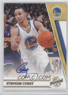 2010-11 Panini Season Update Signatures [Autographed] #167 - Stephen Curry /99