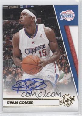 2010-11 Panini Season Update Signatures [Autographed] #172 - Ryan Gomes /299